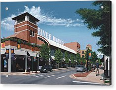 Little Rock River Market Acrylic Print