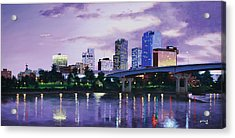 Little Rock Skyline Acrylic Print