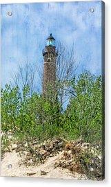 Little Sable Lighthouse Acrylic Print