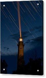 Little Sable Lighthouse Acrylic Print by Steve Gadomski