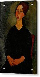 Little Servant Girl Acrylic Print by Amedeo Modigliani