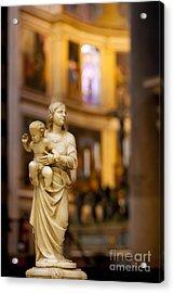 Little Statue Acrylic Print by Brian Jannsen