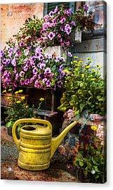 Little Swiss Garden Acrylic Print