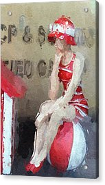 Little Toy Shop Princess Acrylic Print