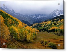 Little Meadow Of The Sublime Acrylic Print by Eric Glaser
