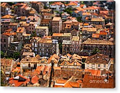 Little Village Acrylic Print by Andrew Paranavitana