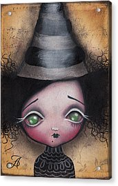 Little Witch Acrylic Print