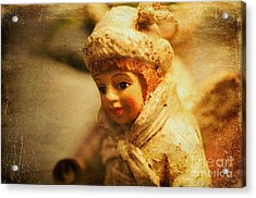 Littlest Angel Acrylic Print by Terry Rowe
