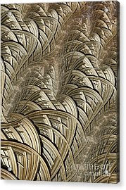 Litz Wire Abstract Acrylic Print