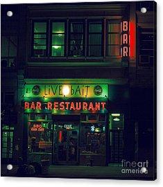Live Bait Acrylic Print by Andrew Paranavitana