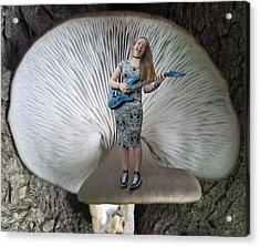 Live Acrylic Print by Eric Kempson
