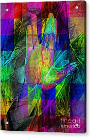 Live Long And Prosper 20150302v2 Color Squares Acrylic Print by Wingsdomain Art and Photography
