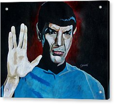 Live Long And Prosper Acrylic Print by Jeremy Moore