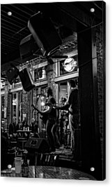 Live Music And Beer In Nashville Tennessee Acrylic Print by Dan Sproul