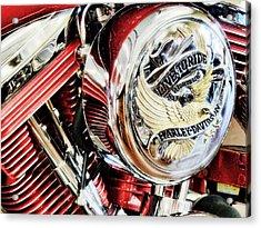 Live To Ride  Acrylic Print by Saija  Lehtonen