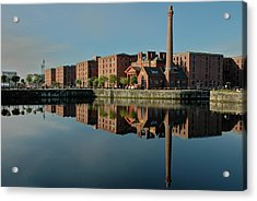 Liverpool Canning Docks Acrylic Print by Jonah  Anderson