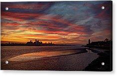 Liverpool Skyline Acrylic Print