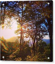Livin A Mountain Morning Acrylic Print