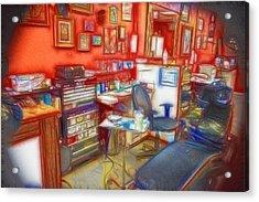 Living Canvas Acrylic Print by Cindy Nunn