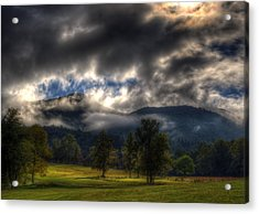 Living In The Clouds Of Western North Carolina Acrylic Print