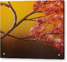 Living Loving Tree Bottom Right Acrylic Print by Darren Robinson
