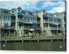 Acrylic Print featuring the photograph Living On The Dock Of The Bay by Emmy Marie Vickers