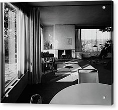 Living Room In Mr. And Mrs. Walter Gropius' House Acrylic Print