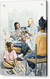 Living Room Serenades Acrylic Print