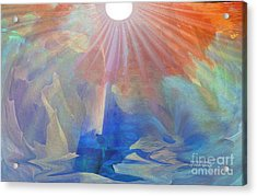Living Under The Umbrella Of Light Acrylic Print by Sherri's Of Palm Springs