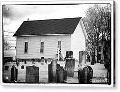 Living With The Dead Acrylic Print by John Rizzuto