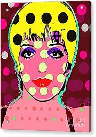 Liza Acrylic Print by Ricky Sencion