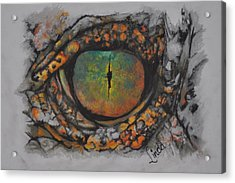 Lizards Eye Acrylic Print