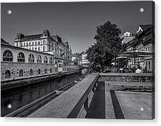 Ljubljana - Central Market Acrylic Print