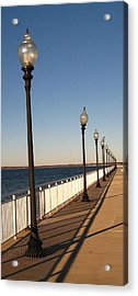 Acrylic Print featuring the photograph Light Lines by Bruce Carpenter