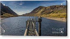 Llyn Cowlyd Reservoir Acrylic Print