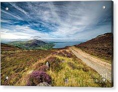 Llyn Peninsula Acrylic Print by Adrian Evans