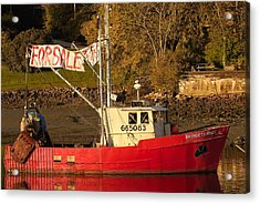 Lobster Boat For Sale Acrylic Print