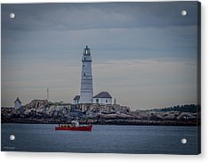 Lobster Boat Passing By Acrylic Print