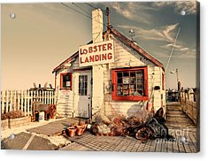 Lobster Landing Clinton Connecticut Acrylic Print