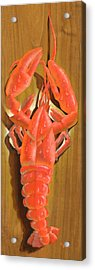 Lobster On A Plank Acrylic Print