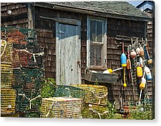 Lobster Shack Acrylic Print by Juli Scalzi