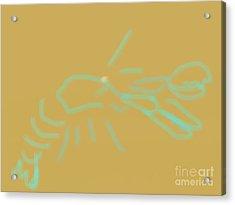 Lobster Spirit Acrylic Print by James Eye