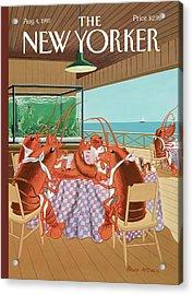 Lobsterman's Special Acrylic Print