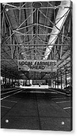 Local Farmers Acrylic Print by Mark Alder