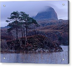 Loch Druim Suardalain Acrylic Print