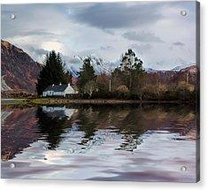 Loch Etive Reflections Acrylic Print