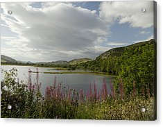 Acrylic Print featuring the photograph Loch Fleet Scotland by Sally Ross