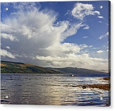 Loch Fyne Scotland Acrylic Print by Jane McIlroy