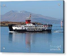 Loch Linnhe Ferry - Oban Acrylic Print