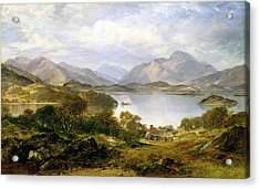 Loch Lomond, 1861 Acrylic Print by Horatio McCulloch